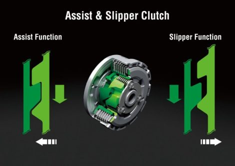 Assist & Slipper Clutch di R15 MY 2017