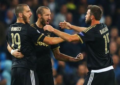 trio BBC Juventus